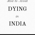 How to Avoid Dying in India ebook