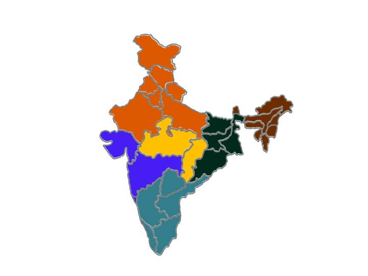 Indias By Region Regions Of India Learning India